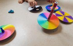 Hier erhältst du 7 super kreative Ideen, Farbkreisel selber zu basteln ✅ Sogar dein Kind kann dabei mitmachen ✅ ✅ Hol dir jetzt deine Inspiration!