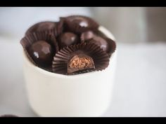 KETO CHOCOLATE CANDY RECIPE WITH HAZELNUT FILLING
