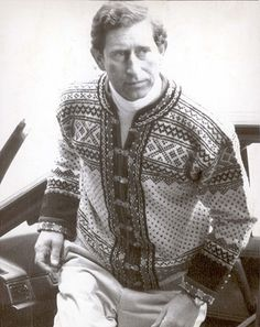 Royal men's interesting fashion choices spam: Prince Charles London Mens Fashion, Mens Fashion Week, Knit Fashion, Icon Fashion, Prince Charles, Norwegian Knitting, Save The Queen, Fair Isle Knitting, Prince Of Wales