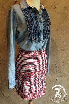 The Rodessa – embroidered skirt from Savannah Sevens Western Chic