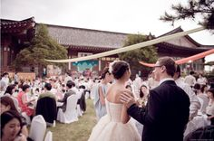 wedding in traditional house