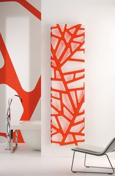 """""""FLORA"""" - heating radiator - design / engineering: James di Marco produced & distribuited by CALEIDO Home Radiators, Modern Radiators, Decorative Radiators, Interior Architecture, Interior Design, Towel Warmer, Flora, Decoration, Designer"""