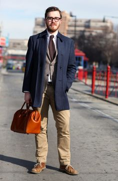 Boys, this look is SO in right now!! Thinking of wearing similar to Fashion Week on the weekend.  Jonathan Evans, Park & Bond
