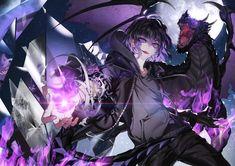 Character Design Animation, Character Art, Dark Anime Guys, Fantasy Art Landscapes, Manga Illustration, Anime Demon, Animes Wallpapers, Anime Characters, Anime Art
