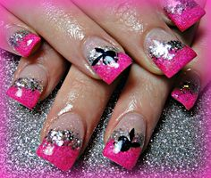 Playboy nails gone wild pinterest playboy bunny makeup and oooo but the pink has to go prinsesfo Image collections
