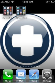 Top 20 Free iPhone Medical Apps For Health Care Professionals  I haven't tried them yet, but they look good. You can search for them on android, too.