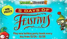 Especial Navidad Plants Vs Zombies 2 | Juegos Plants vs Zombies - jugar gratis