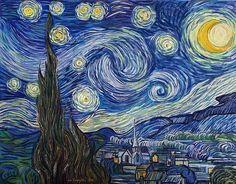 Vincent van Gogh, Gwiezdzista noc