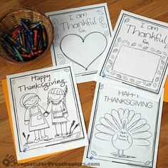 Printable Thanksgiving Crafts | these fun coloring pages and printables for the kids on Thanksgiving ...