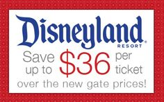 Disneyland raised it's ticket prices again. Here are 6 ways to save money at the Happiest Place on Earth. Disney Tickets, Get Away Today, Disneyland Resort, Disney Fun, Ways To Save Money, Saving Money, Things To Think About, Adventure Awaits