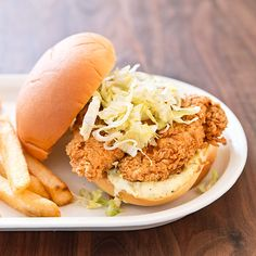 With just 5 minutes of frying—and a handful of our simple tricks—you'll be eating homemade fried chicken sandwiches that blow the feathers off any fast-food version.
