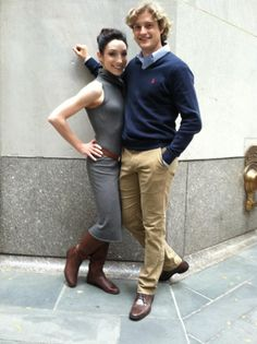 Meryl Davis and Charlie White - NYC 2012