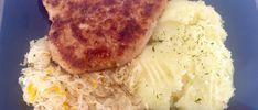 Kotlety z zmieniaczkami na obiad w niedzielę Polish Recipes, Polish Food, Mashed Potatoes, Grains, Pork, Turkey, Rice, Chicken, Ethnic Recipes