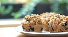 Borůvkové muffiny s drobenkou