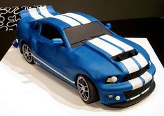 Shelby Mustang cake