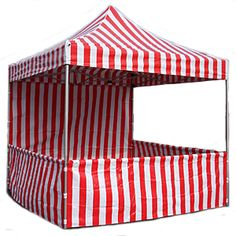 how to make a 10x10 canopy into a carnival booth | How to Construct a Carnival Booth