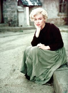 Female style icon. Marilyn Monroe.