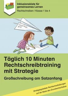 Daily 10 minutes spelling training: capitalization at the beginning of sentences - Elementary Education Education Major, Elementary Education, Education Quotes, Secondary School, Primary School, Teaching Nouns, Study German, Time Capsule