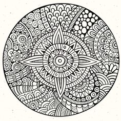 Here are Difficult Mandalas Coloring pages for adults to print for free. Mandala is a Sanskrit word which means a circle, and metaphorically a universe, environment or community. Mandala Art, Mini Mandala, Mandalas Drawing, Mandala Tattoo, Free Adult Coloring Pages, Mandala Coloring Pages, Coloring Book Pages, Printable Coloring Pages, Adult Coloring Pages