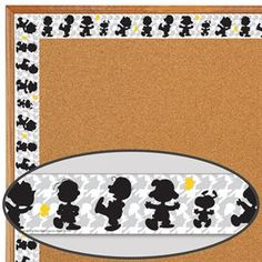 Add Fun And Flair To Your Décor With Contemporary Peanuts Border Trim