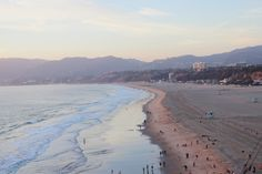 No surprise that a spontaneous trip to Santa Monica would result in a gorgeous beach photo!
