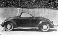 OG | 1949 Volkswagen / VW Hebmüller Typ14A | Prototype no.2 dated Dec. 1948