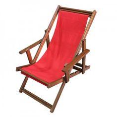 SERÁ QUE TEM DE OUTRAS CORES? PARA A VARANDA? ||| Cadeira Reclinável em lona - 0,49 x 0,98 x 1,05m (LxPxH)
