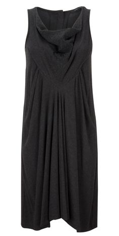 Lauren Vidal Sleeveless Zaz Dress in anthracite