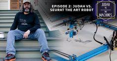 Judah vs. the Machines: SeuratBot is an artistic robot that knows art, but lacks purpose http://lnk.al/4rwU #artnews