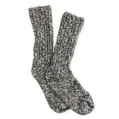 Marled socks $16.50