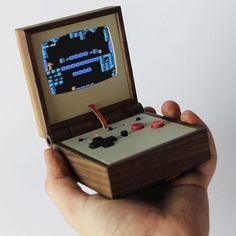 """Swedish craftsman @lovehulten has debuted his latest work: the PE358. The handheld gaming device is a retro-futuristic take on @nintendo's fan-favorite…"""