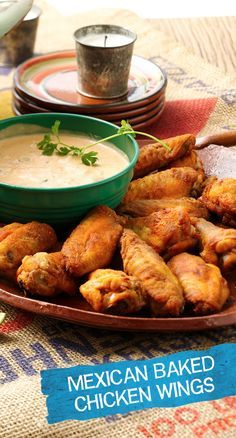 It's not a game day party until without chicken wings!  These Mexican Baked Chicken Wings are the perfect addition to every party (or weeknight)! We've added our own zesty twist on the old game day favorite by adding Old El Paso™ Taco Seasoning and Green Chiles to spice things up! These wings are sure to score big with your crowd!