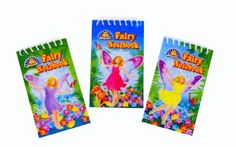 120 x Fairy Notebooks from David S Sales (303-503)