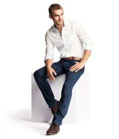 Reception outfit/ or before wedding Business Dress Code, Business Dresses, Business Casual Outfits, Pant Shirt, Shirt Outfit, Casual Groomsmen, White Shirt Men, Before Wedding, Simple Shirts