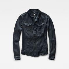 Dit slanke spijkeroverhemd heeft een nauwsluitende, flatterende pasvorm en is…