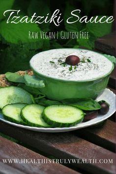 Raw Vegan Tzatziki Sauce