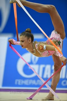 Aleksandra Soldatova, Russia, took 4th place in all-around at Grand Prix Moscow 2015