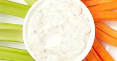 Homemade Ranch Dressing - so much healthier and better tasting than store bought.