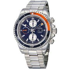 Kadloo Windward Master Men's Blue Dial Chronograph Watch 87420-BL Kadloo. $889.99. Save 70%!