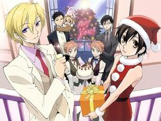 Ouran High School Host Club Christmas