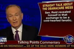 O'Reilly: 'Harry Reid Couldn't Care Less About The Suffering Of Americans,' 'For Harry, It's All About Power'
