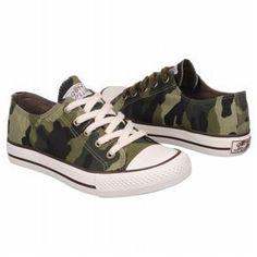 Gotta Flurt Option Covert Green Camo Womens Sneaker 7