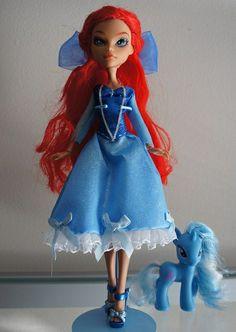 Custom Monster High Ariel by CasseminaPie, via FlickrAdorable!
