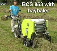 Earth Tools - Walk-Behind Tractors - (502) 484-3988 Miniature hay baler This needs to become more affordable...seriously want! And make it rechargeable (electric) please!