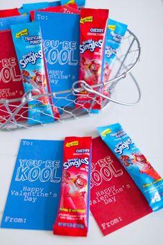 Free KOOL AID Valentine printable!