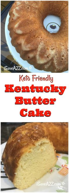 Low Carb and Keto Friendly Butter Cake Recipe