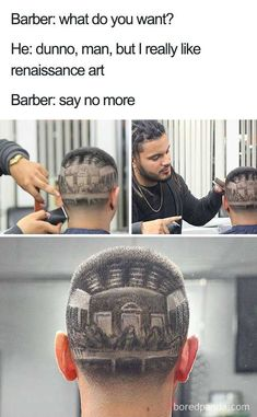 Say No More' Barber Meme: Here's 34 Of The Most Abominable kris bryant haircut style - Haircut Style Say No More Meme, Moustache, Barber Say No More, Haircut Memes, Barber Memes, Terrible Haircuts, Pokemon, Renaissance Art, Hair Humor