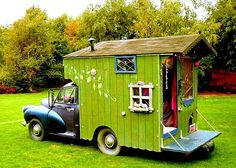 Little and cute car house