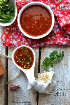 Basia w kuchni: Dip ze słodkim chili - grill