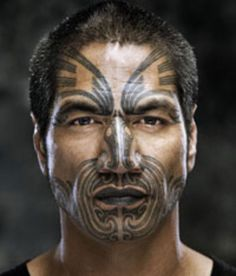 Mau Moko - experience, spirituality and heredity. Right there, for all to see, forever.